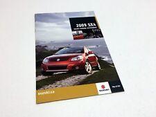 2009 Suzuki SX4 Accessories Brochure