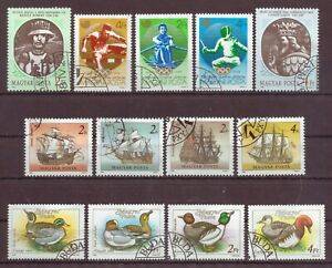 Hungary, Issues of 1988, Cancelled to Order hinged