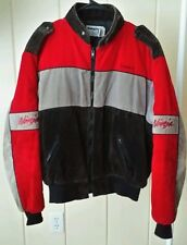 Vtg Swingster Kawasaki Ninja Corduroy Motorcycle Jacket Coat Sz Large~Unisex