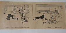 Incline toi devant le Mikado Maitre du Monde Humour image print 1900