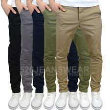 Jack & Jones Mens Marco Enzo Slim Fit Chinos - Available in 5 Colours, BNWT