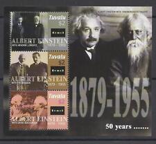 Tuvalu 1233/35 KLB Albert Einstein 2005 postfrisch