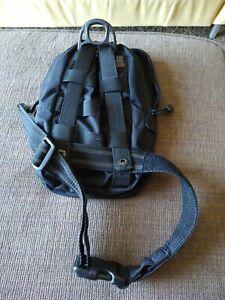5.11 VIAC Tactical Gear Bag Pack Black Sling Pack Shoulder Bag Leg Bag Military