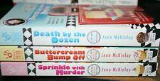Cupcake Bakery Mystery Series-3 Mystery Paperbacks by Jenn McKinley
