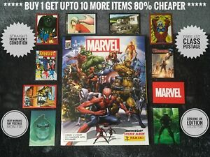 Panini MARVEL 80th Anniversary Cards & Stickers, No.1-192, C1-C50, Free Post