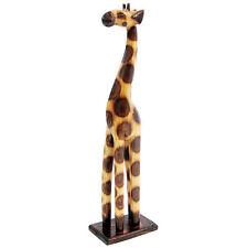 Super Giraffe hand carved solid wood giraffe ornament 50cm