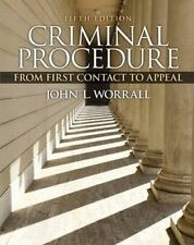 USED (VG) Criminal Procedure: From First Contact to Appeal (5th Edition)
