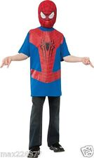 The Amazing Spider-man 2 Spider-man Costume Top and Mask Child Small 4-6 yrs