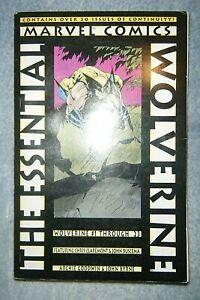 Essential Wolverine Volume 1 (Marvel, 1996) 1st Printing ~ VF Condition