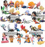 DRAGON BALL 30 STATUETTE PERSONAGGI CON SCATOLA super z action figure sayan goku
