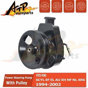 FOR FORD FALCON 6CYL POWER STEERING PUMP EF EL AU 4.0L XH INC XR6 LTD 1994-2002