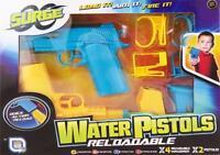 Grafix Surge Wasser Pistole Wars Wiederaufladbar 2 Wasserpistole Sommer Außen-