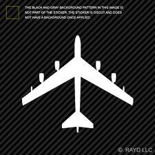 (2x) B-52 Stratofortress Sticker Die Cut Decal Self Adhesive Vinyl bomber b52 V2