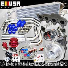 T3/T4 Turbo Kits for 90-96 Honda Accord F22F23/92-96 Honda Prelude F22/H23