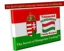 $ 6 OFF SHIPPING - Helen's Hungarian Rhapsody of Recipes™ Flavours of Hungary™