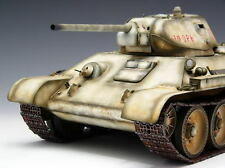 Trumpeter 1/16 WWII  Russian T-34 / 76 1942   Static Soviet Tank Kit  # 00905