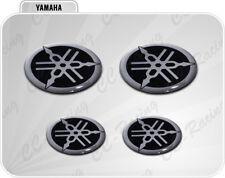 Kit Adesivi Resinati 3D YAMAHA R1 R6 silver