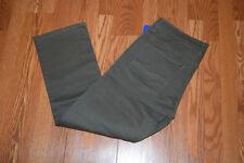 NWT Mens BUFFALO JEANS SAM-X BASIC Olive Slim Straight Stretch Jeans 36 W 30 L