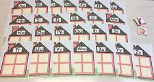 Alphabet House Game - Beginning Sounds - Learning Center Complete Set