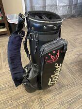 Scotty Cameron Titleist Caddy Bag (Black) Rare Classic Buffalo by Neil - Used