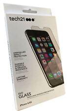 Original TECH21 EVO Protector Pantalla Cristal Escudo de impacto para iPhone 6