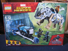 Lego Black Panther Set 76099 Rhino Face-Off by the Mine ~ New Unopened