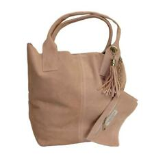 Ladies Arianna Italian Suede Shoulder Bag