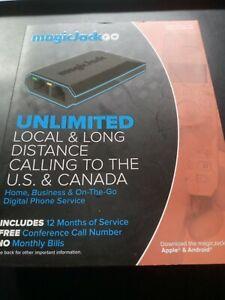Magic Jack Go Digital Phone Unlimited Local & Long Distance US-Canada