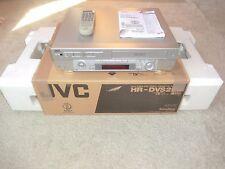JVC HR-DVS2 miniDV / S-VHS ET Recorder, in OVP, generalüberholt, 2J. Garantie