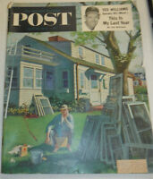 Post Magazine Ted Williams Last Year April 1954 122814R