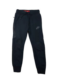 Nike Tech Fleece Jogger (Boys Size S) Black Slim Fit Sweatpants