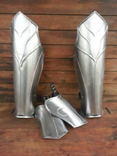 Collectibles Leg Greaves Larp Armor Steel Leg Greaves Pair Reenactment Replica