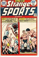 STRANGE SPORTS STORIES #4 1974 DC BRONZE AGE NICE!