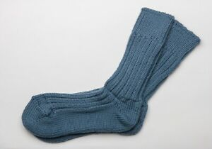 Irish Wool Socks  Country Green   - Size M = UK 4-7  (EUR 37-41  /  US 5.5 -8.5)