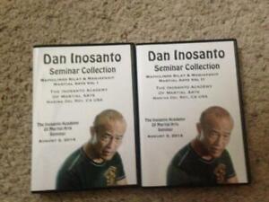 Dan Inosanto Maphilindo Silat  DVD Set Arnis JKD Jeet Kune Do Kali Vunak