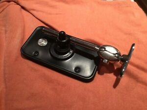 LUCAS TYPE 160 black classic car wing mirror suit early mg or commercial?