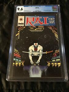 Valiant Comics 1992 Rai #5 CGC 9.6 NEAR MINT+ WHITE Pages Infinity Trap
