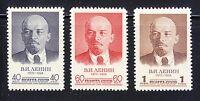 Russia 1958 MNH Sc 2053-2055 Mi 2071-2073 Vladimir Lenin