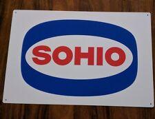 SOHIO 12 X 18 metal sign Gas Station Pump vintage advertising 50021