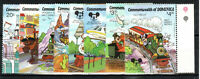 Dominica 1987 60th Anniversary of Mickey Mouse MNH