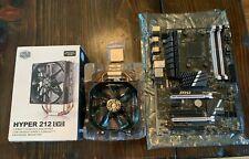 AMD FX 6200,CoolerMaster Hyper 212 Evo,MSI 970A SLI Krait Edition MB Bundle