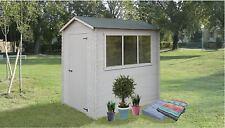 Casetta in legno Ripostiglio Box Deposito attrezzi da giardino 150x200