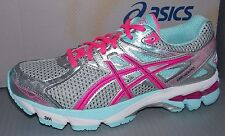 WOMENS ASICS GT - 1000 3 in colors LIGHTNING / HOT PINK / MINT SIZE 6.5