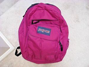 JanSport Large Backpack Pink/Purple Excellent Condition
