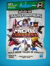 RARE Kre-o Transformers Micro Changers Coll. 3 Fig. (1 packet) buy 4 get 1 free
