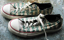 Vintage cats black black cat Converse All Star Low Mens 5.5 Women's 7.5 preowned