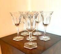 Baccarat Set of 6 Malmaison Wine Glasses
