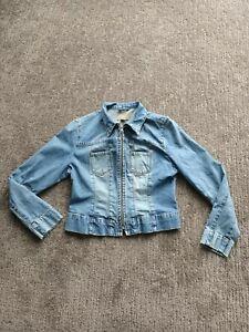 Womens Just Jeans denim jacket size 12