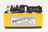 BACKHEAD DETAIL HON3 BRASS C-16 PSC 2-8-0 # 278 PRECISION SCALE FACTORY PAINTED