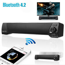 Bluetooth Wireless 3D Stereo Sound Bar Speaker AUX USB Subwoofer Home TV Theater